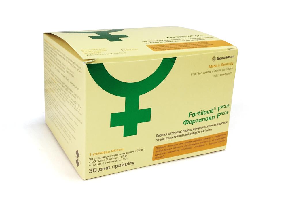 Fertilovit F PCOS box only