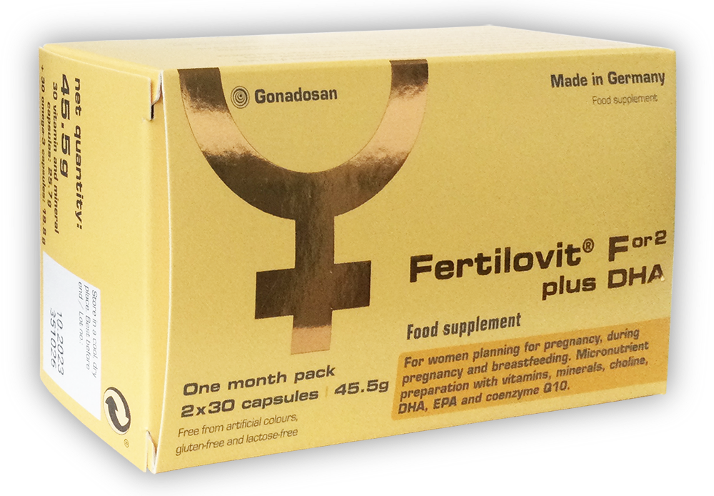 Fertilovit For2 plus DHA